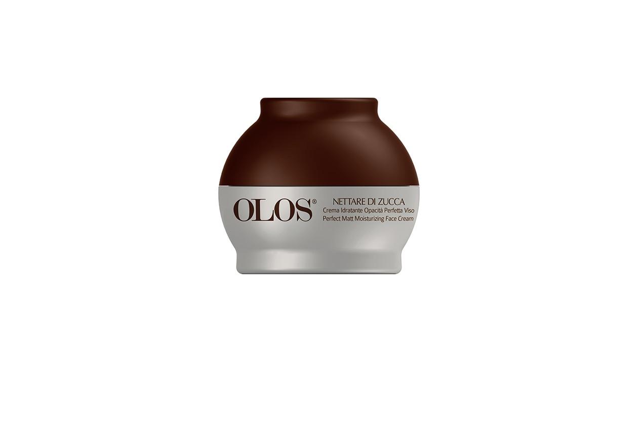 Crema Idratante Opacità Perfetta Viso Nettare di Zucca di Olos