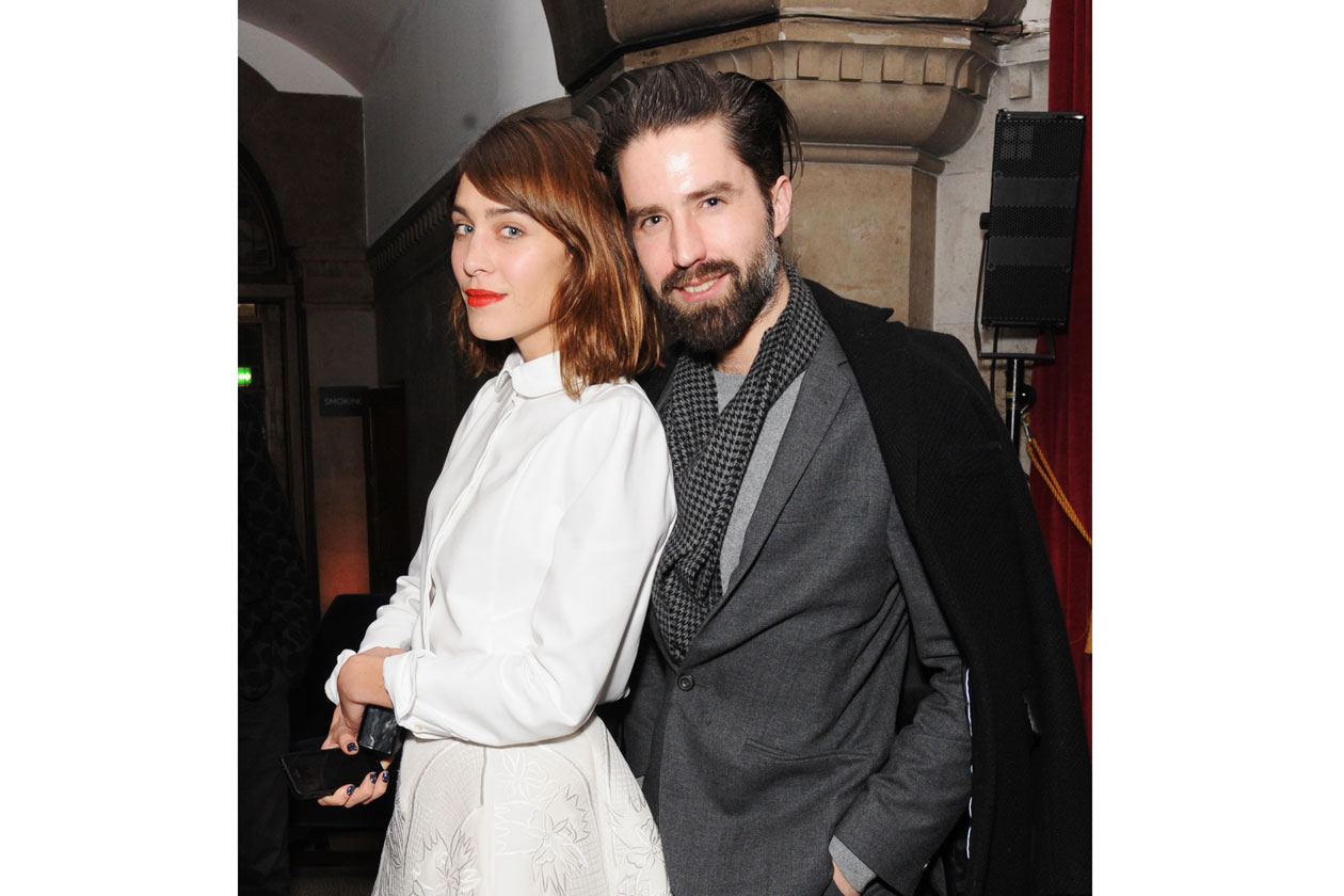 DMB BRITISH FASHION AWARDS NOMINEES DINNER Emilia Wickstead and Jack Guinness