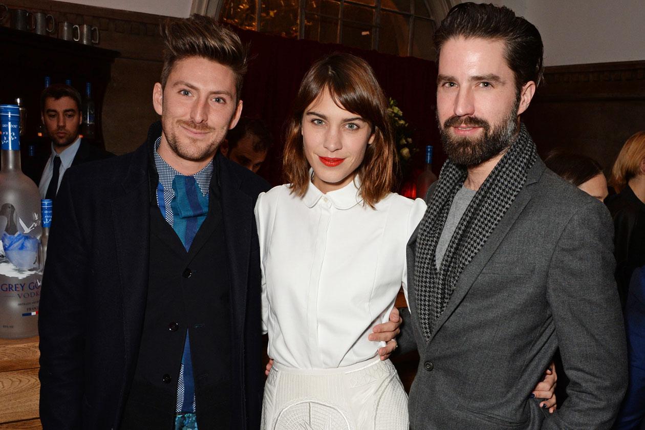 DMB BRITISH FASHION AWARDS NOMINEES DINNER Henry Holland, Alexa Chung and Jack Guinness