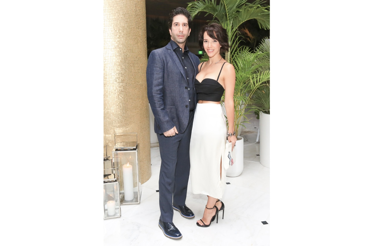 David Schwimmer and Zoe Buckman THE MIAMI BEACH EDITION HOTEL launches with a celebration for W MAGAZINE