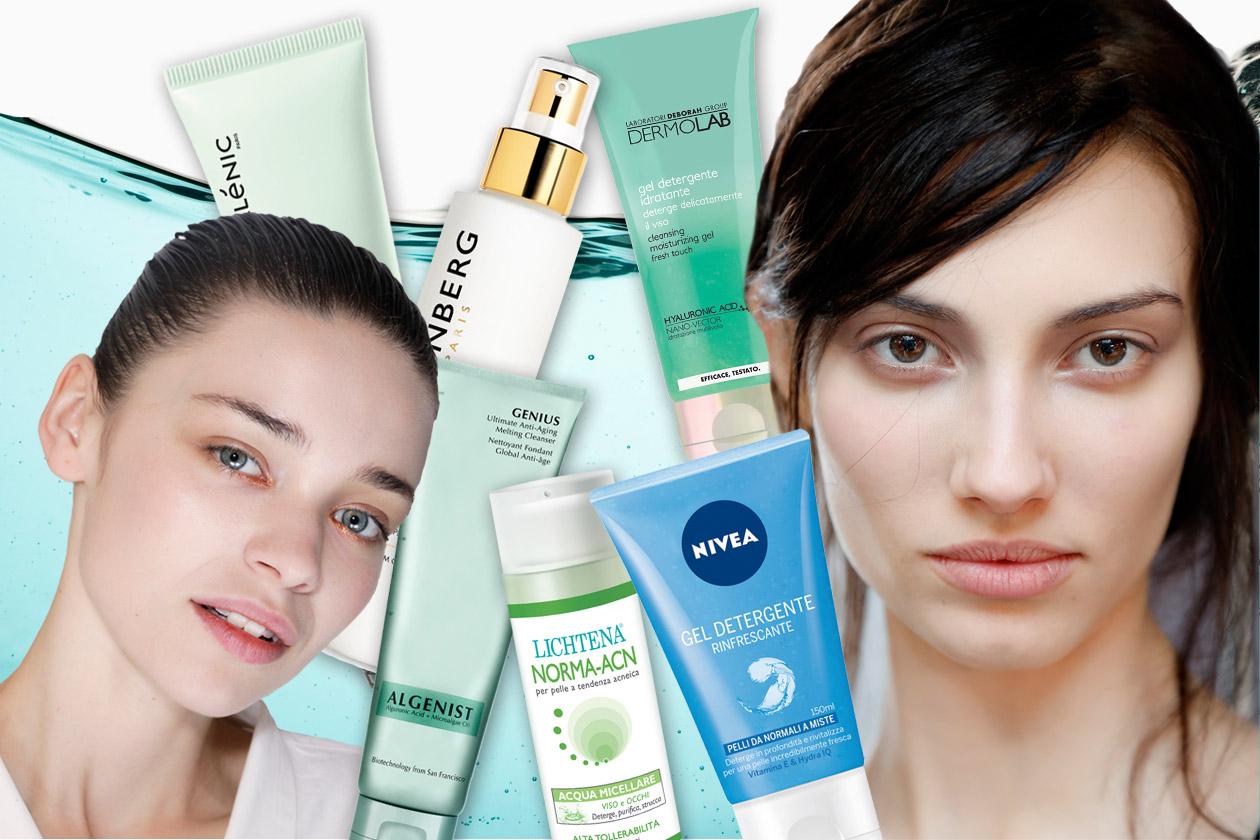 Detergenti viso: i trattamenti ideali per una pelle purificata e radiosa