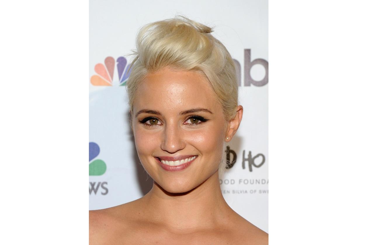Dianna Agron beauty look: