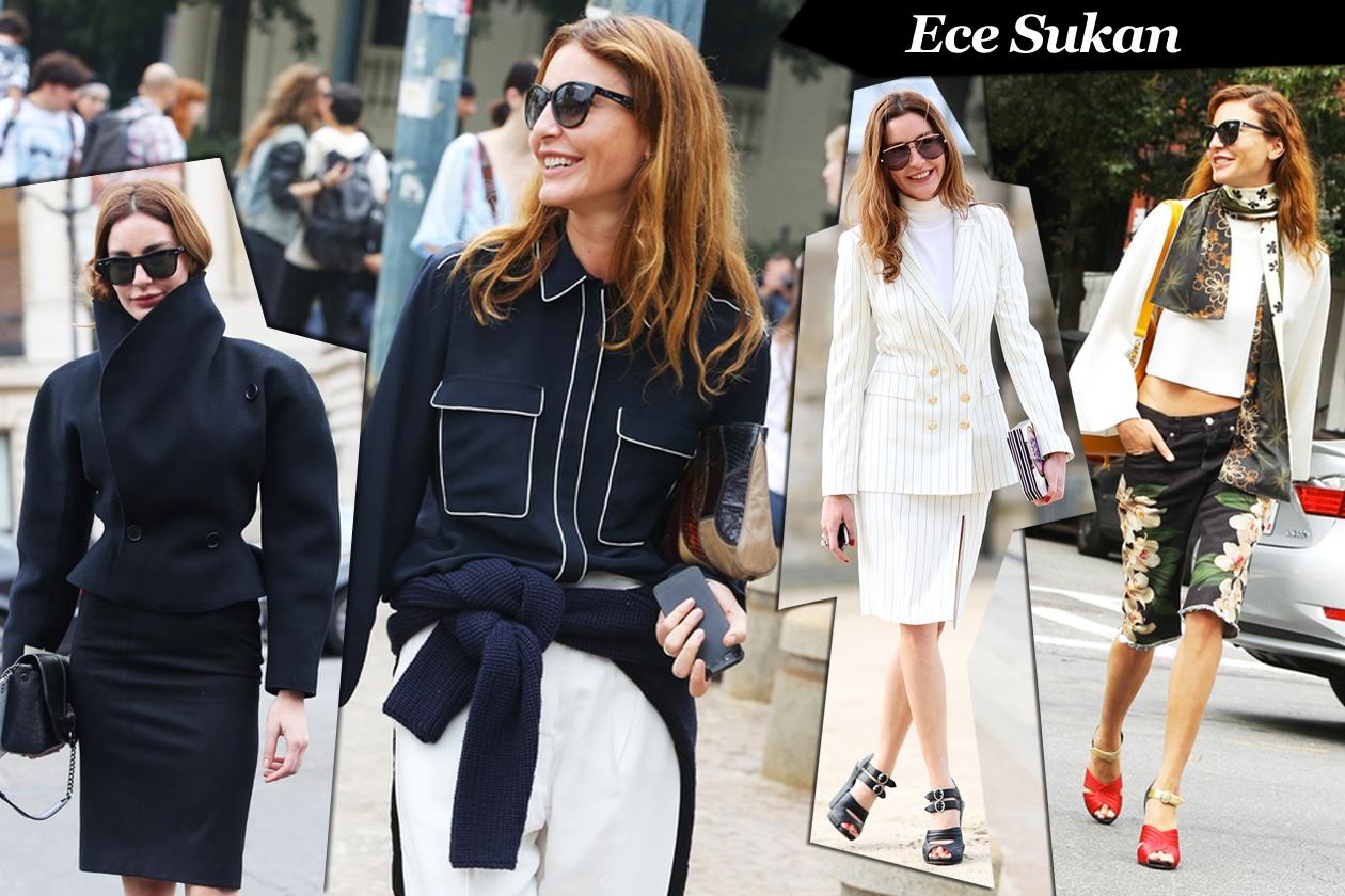 Ece Sukan: fierce lady