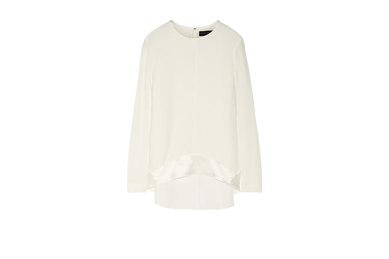Fashion get the look Olivia Palermo blusa narciso rodriguez net a porter