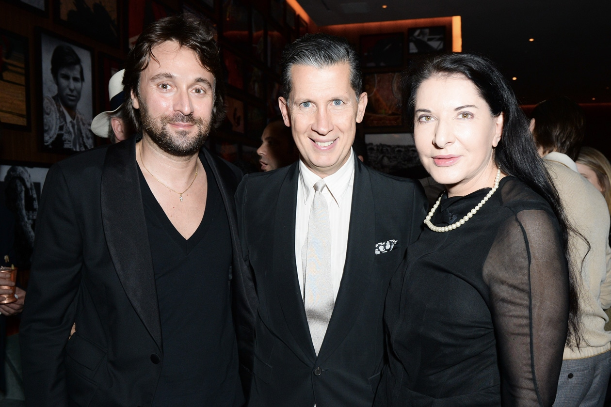 Francesco Vizzoli, Stefano Tonchi and Marina Abramavic