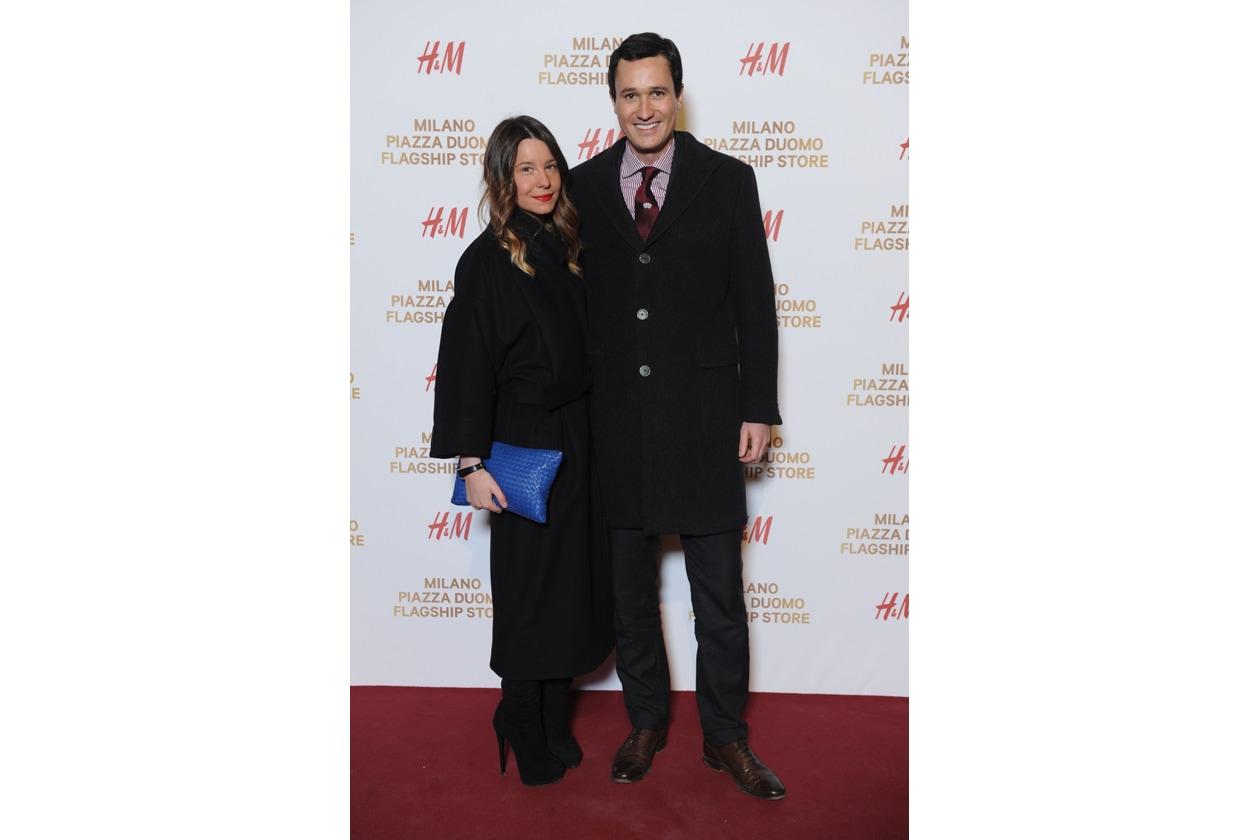 HM Milano Duomo 10 dicembre 2014 Benedetta Grigolin; Giovanni Tremonti