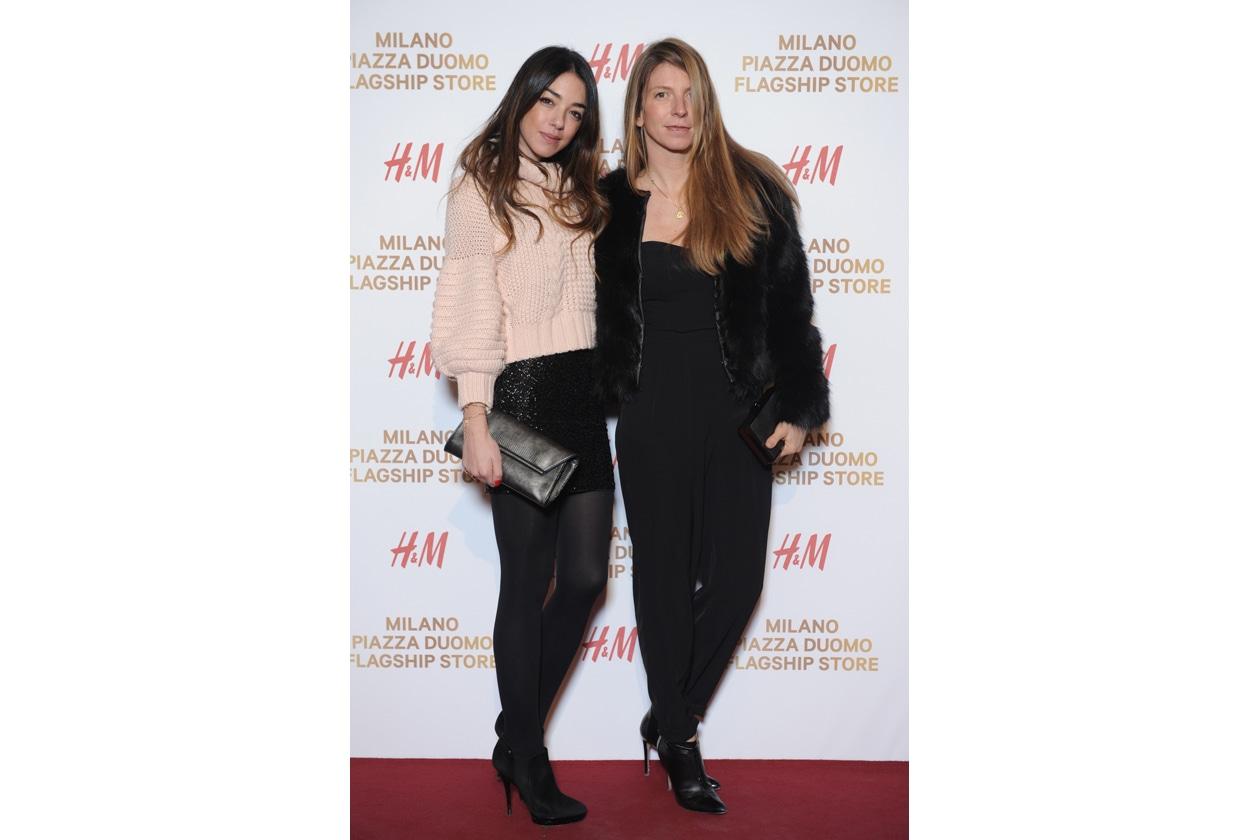 HM Milano Duomo 10 dicembre 2014 Valentina Scambia; Virginia Galateri di Genola1
