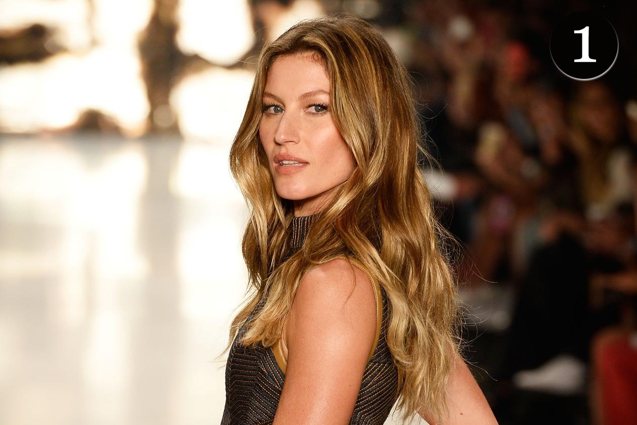 I beauty look più belli del 2014 – Il bronde di Gisele Bundchen