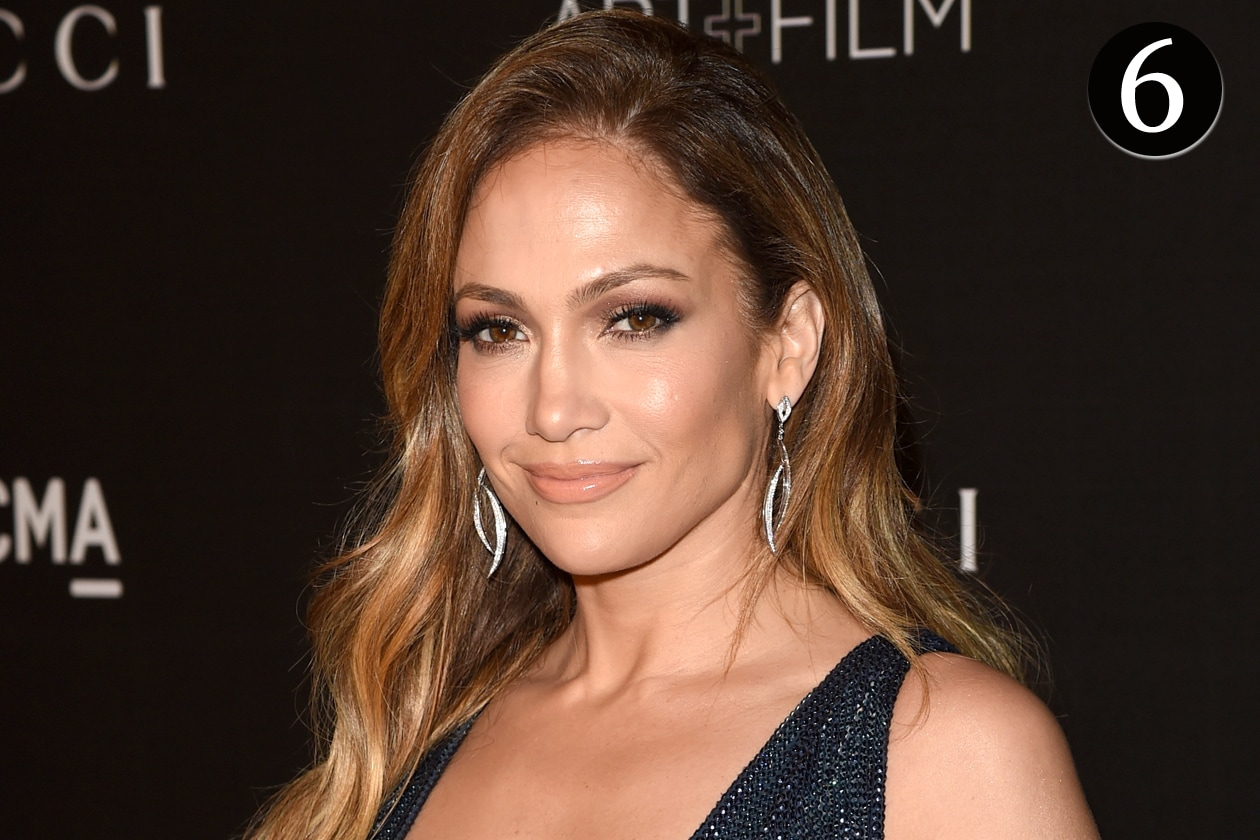 I beauty look più belli del 2014 – Il look glowy di Jennifer Lopez