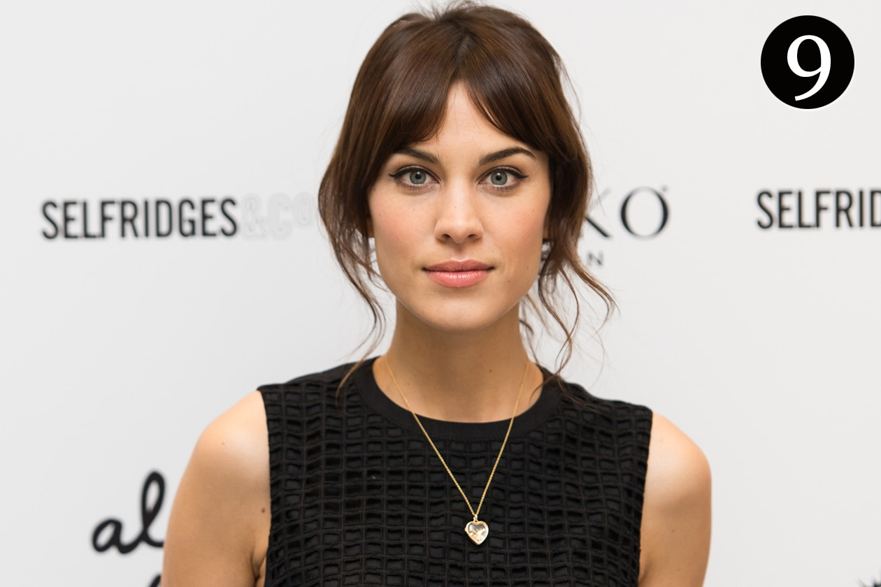 I beauty look più belli del 2014 – Il signature look di Alexa Chung