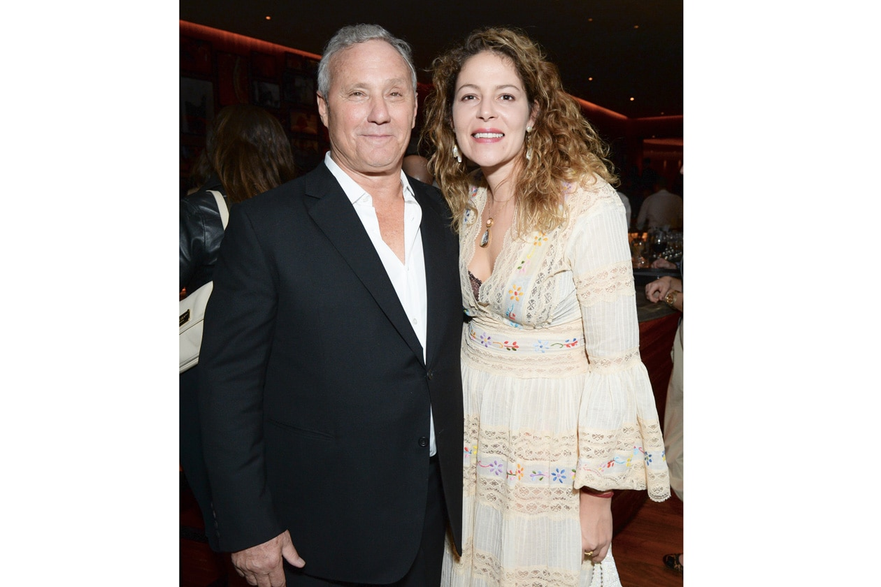 Ian Schrager and Lola Schnabel THE MIAMI BEACH EDITION HOTEL launches with a celebration for W MAGAZINE