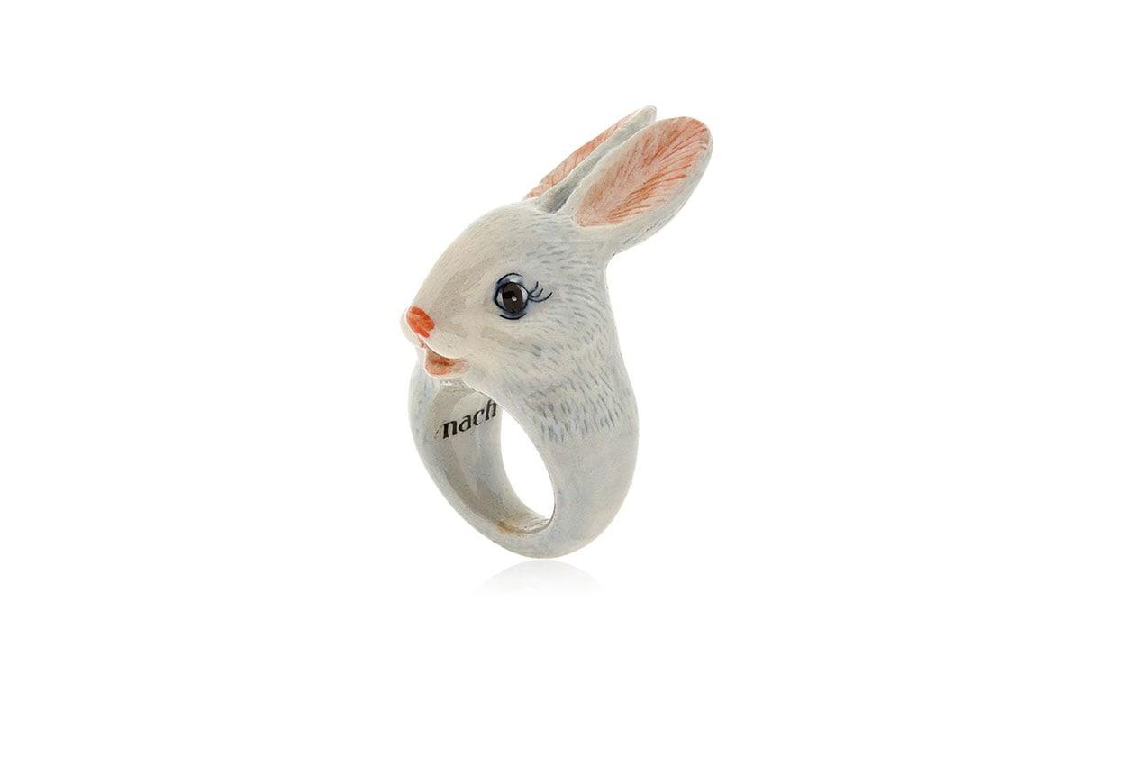 Il coniglio bianco, NACH