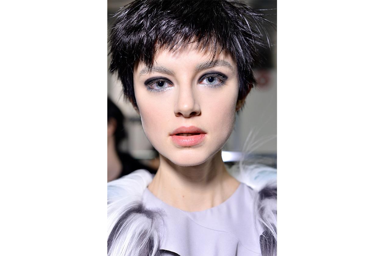 Il make up della sfilata Emporio Armani AI 14-15