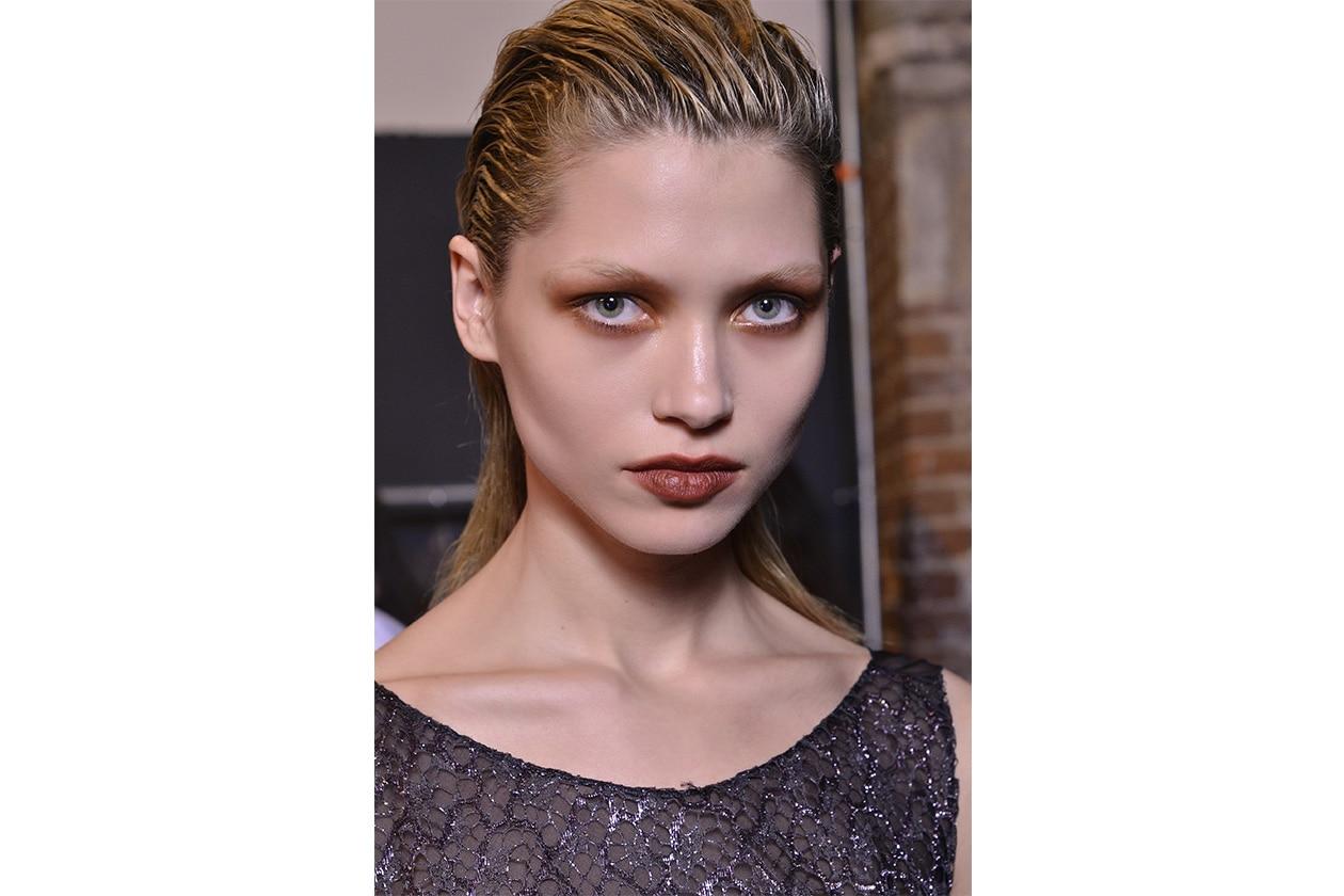 Il make up della sfilata Philosophy AI 14-15