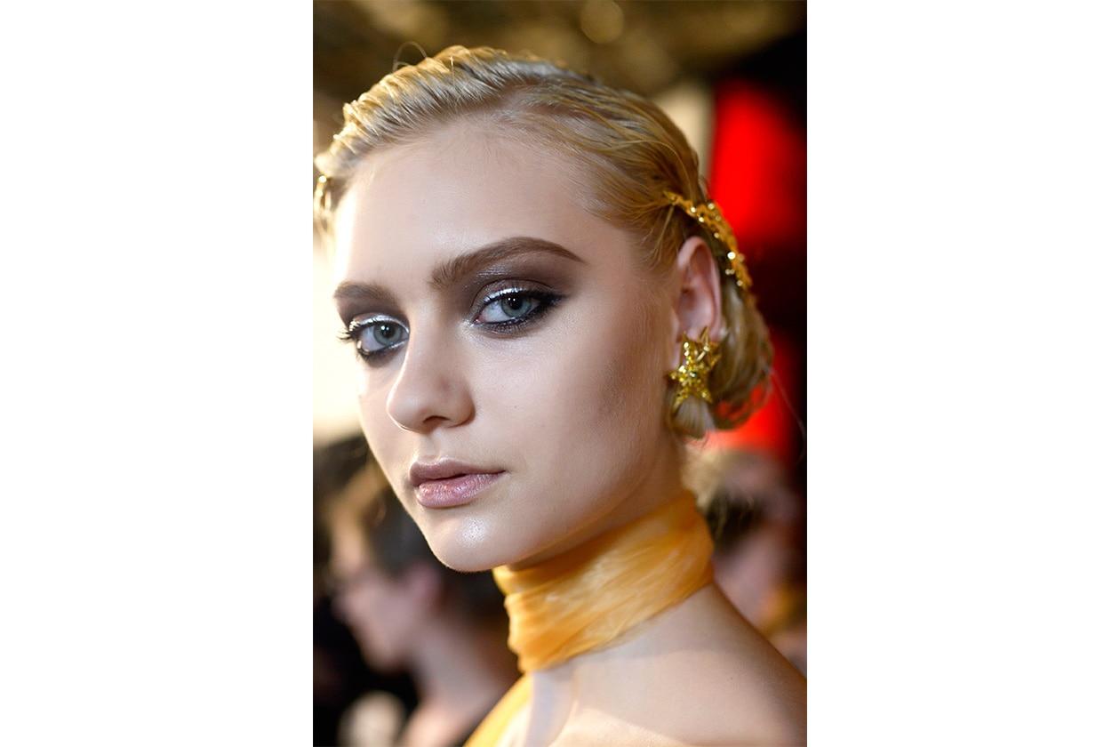 Il make up della sfilata Ulyana Sergeenko Couture AI 14-15