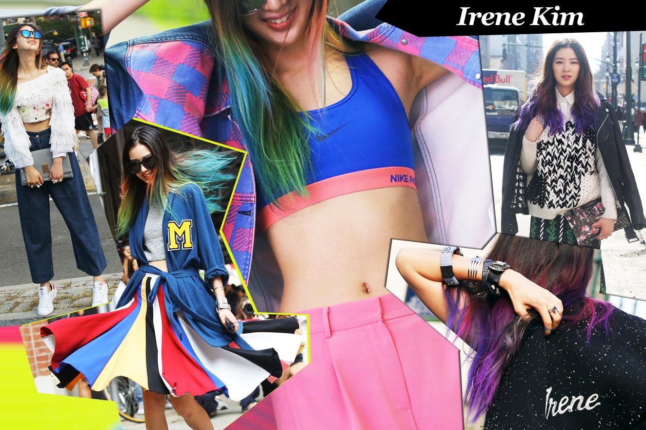 Irene Kim: crazy colors