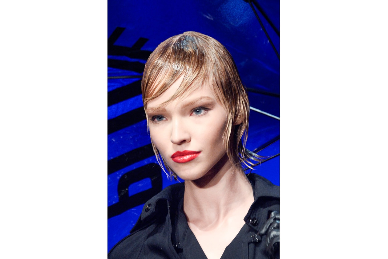 Jean Paul Gaultier: very wet hair
