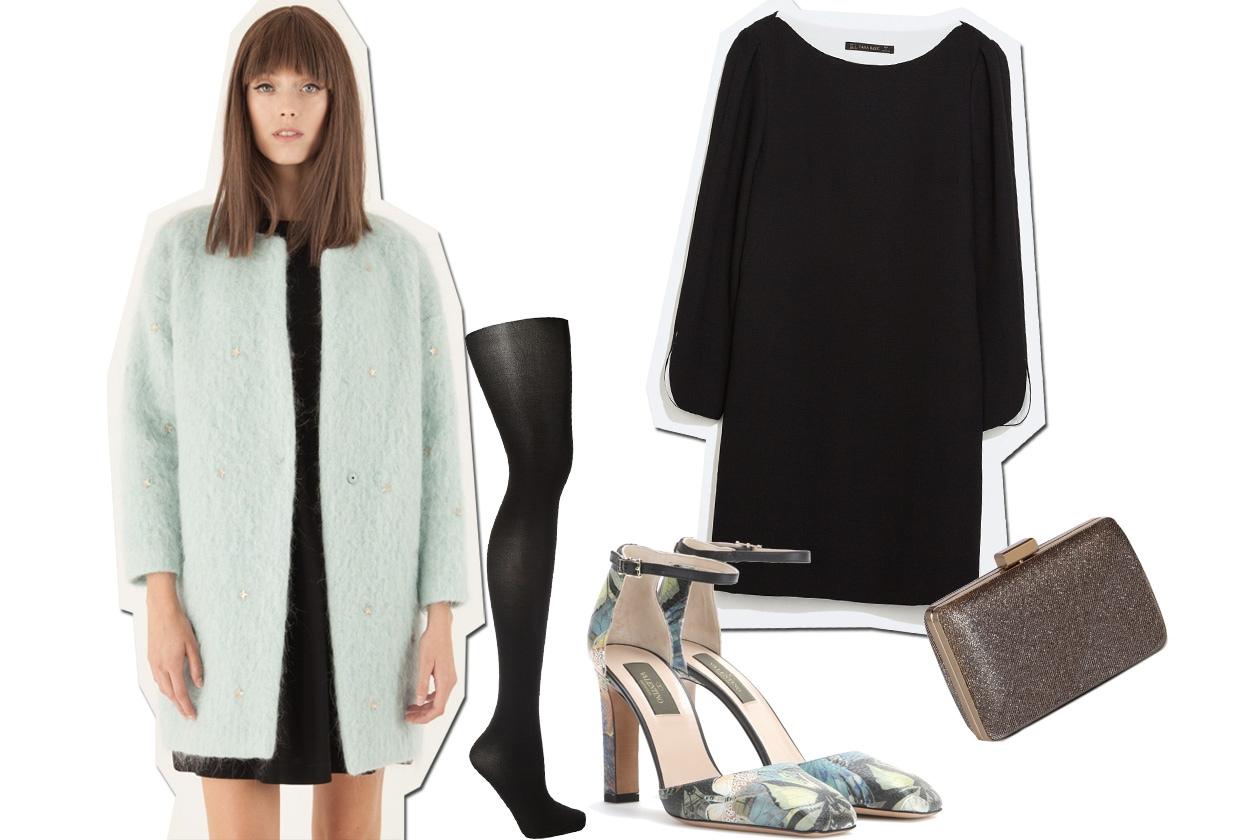 LOOK 3: cozy coat