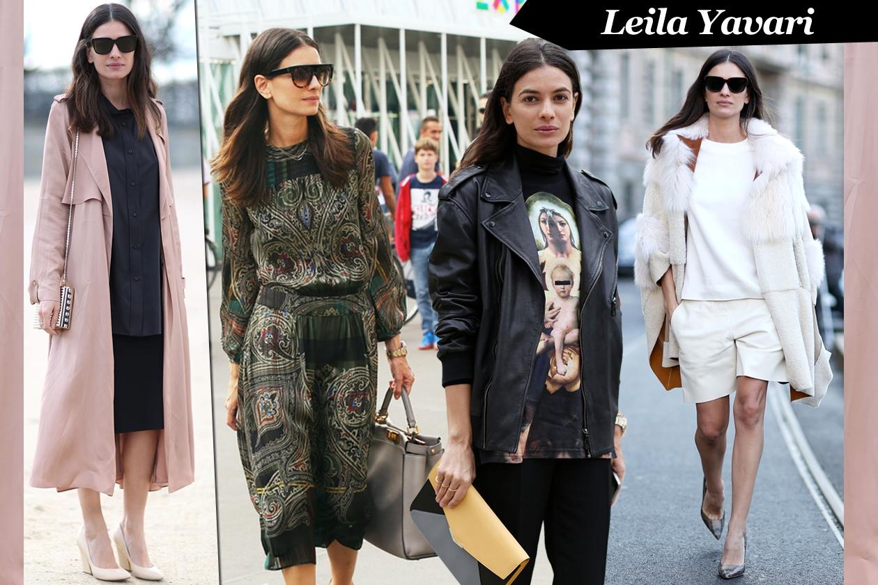 Leila Yavari: relaxed glam
