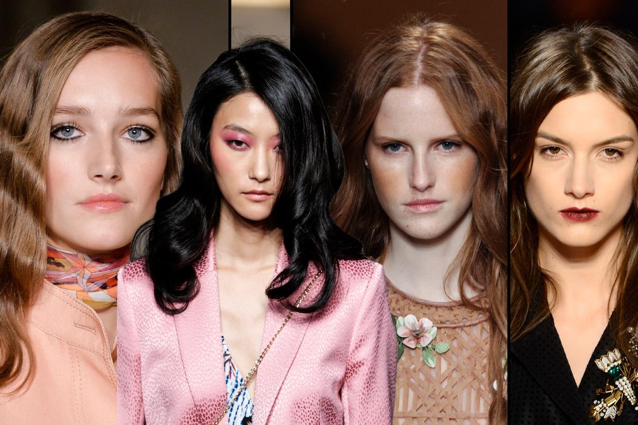 Lunghi e wavy: l'hairdo più gettonato sulle passerelle