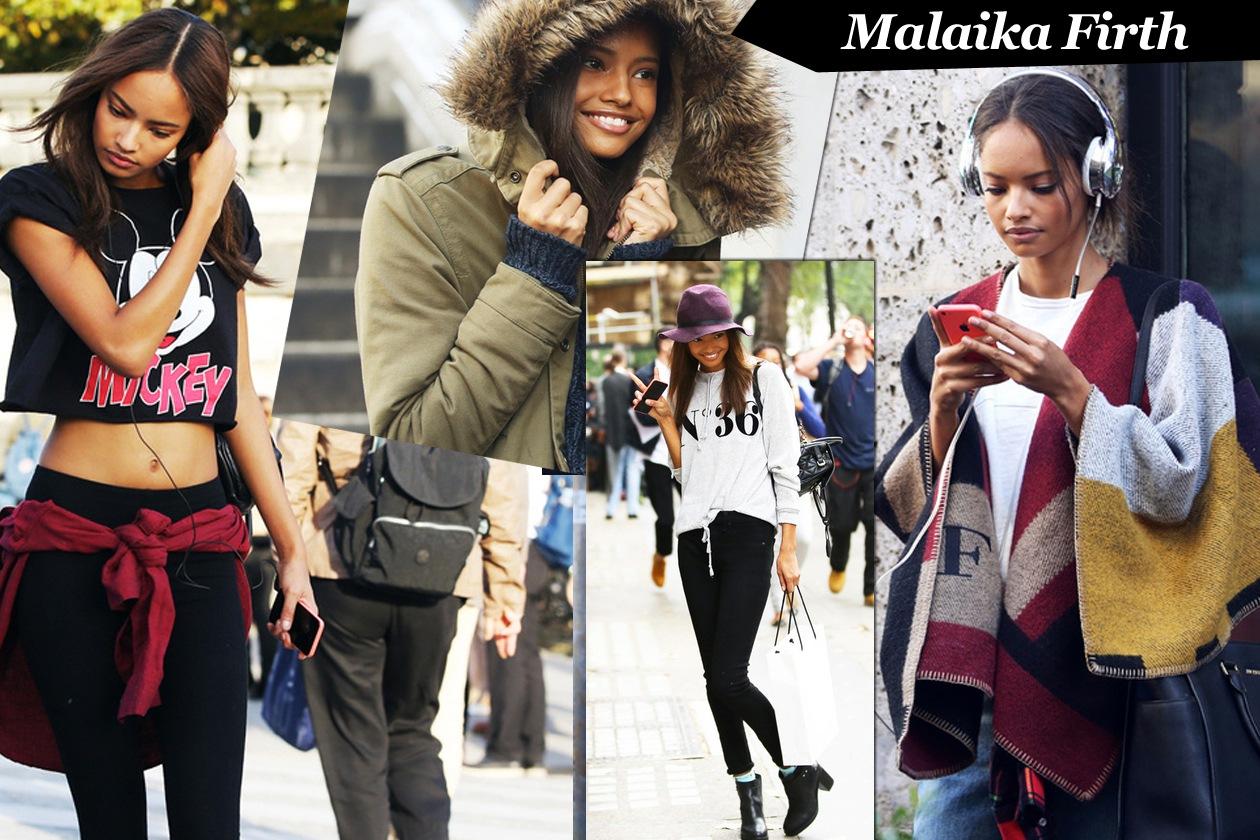 Malaika Firth: model off duty