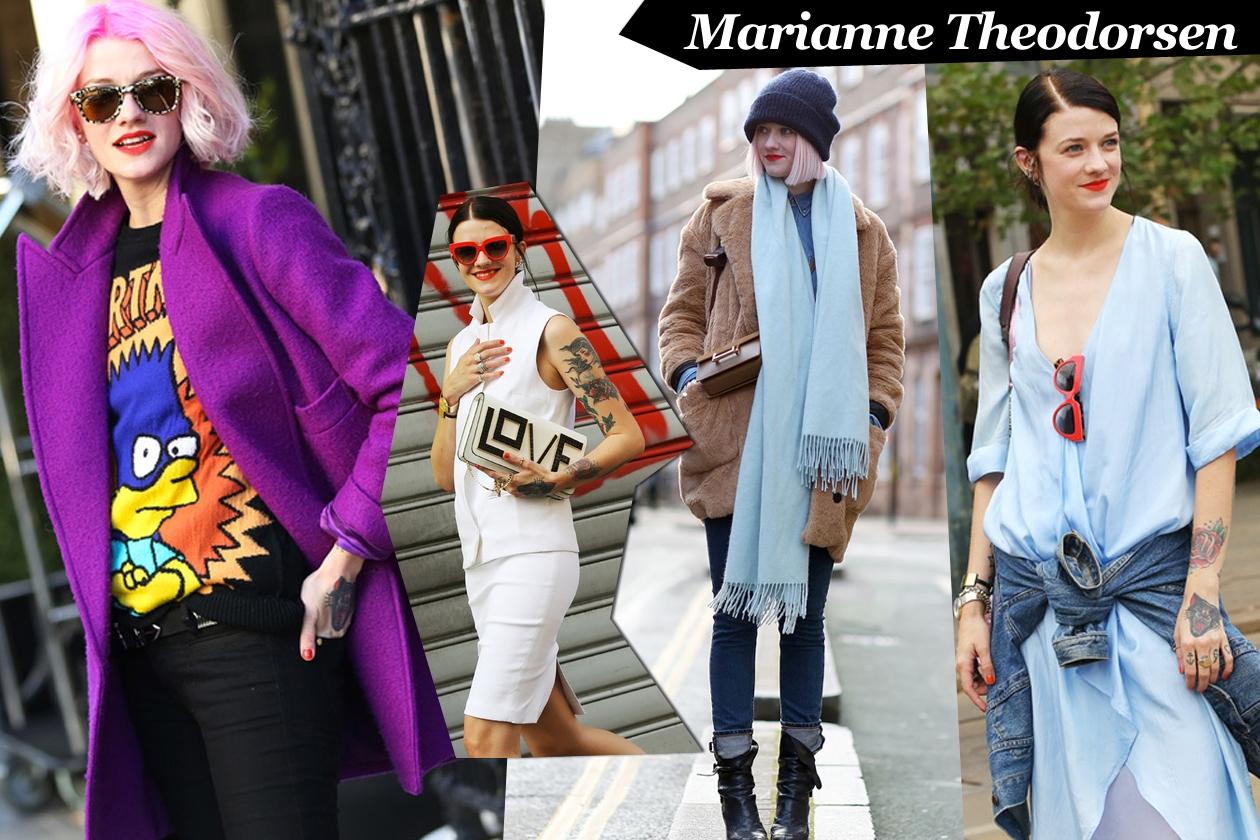 Marianne Theodorsen: punk attitude