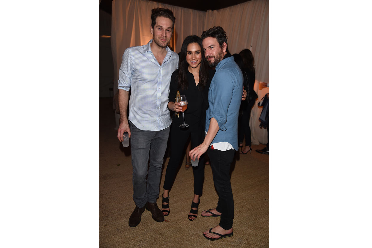Meghan Markle; Marcus Anderson White Cube