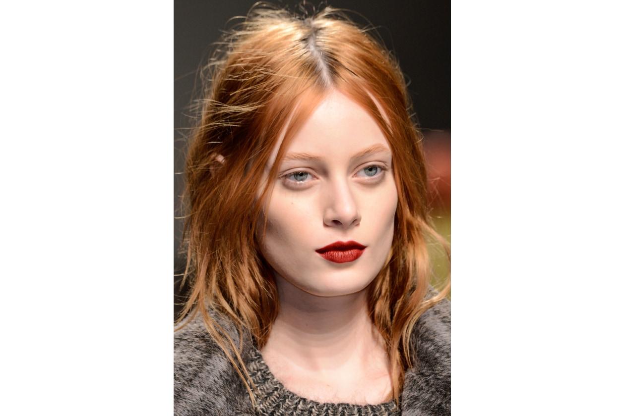 Rossetto rosso: dark red