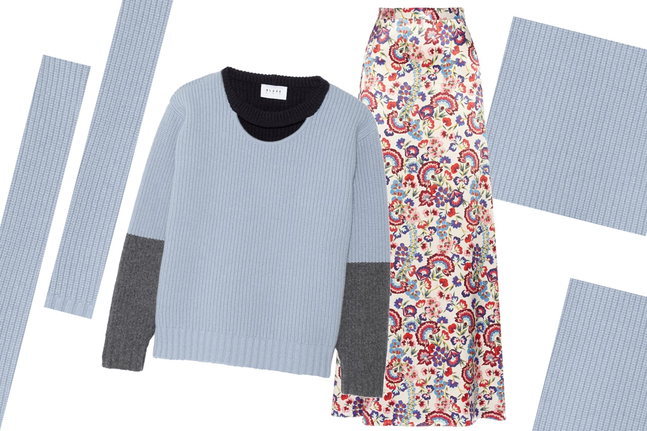 SKIRT ALICE BY TEMPERLEY & JUMPER FINDS