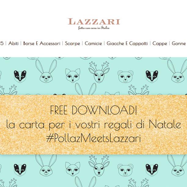 Scarica la carta regalo di Lazzari