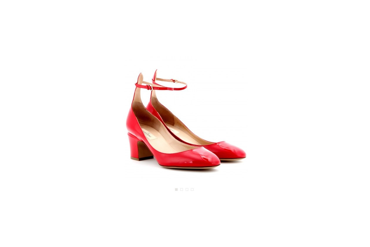 Scarpe rosse di Valentino (su mytheresa.com)