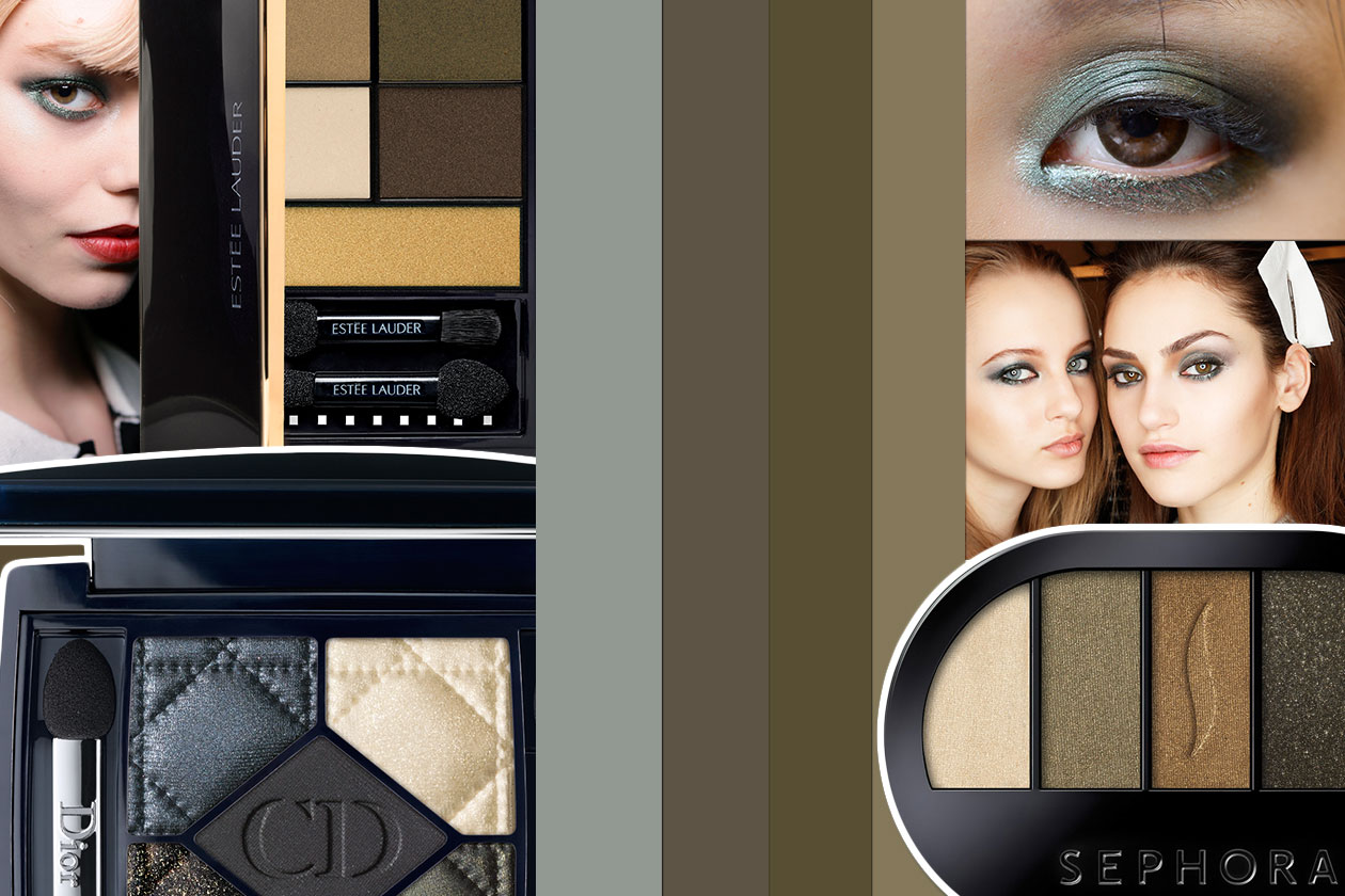 Se preferite uno smokey eyes verde…