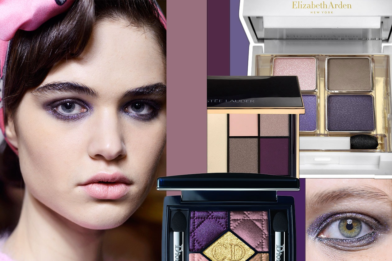 Se preferite uno smokey eyes viola…