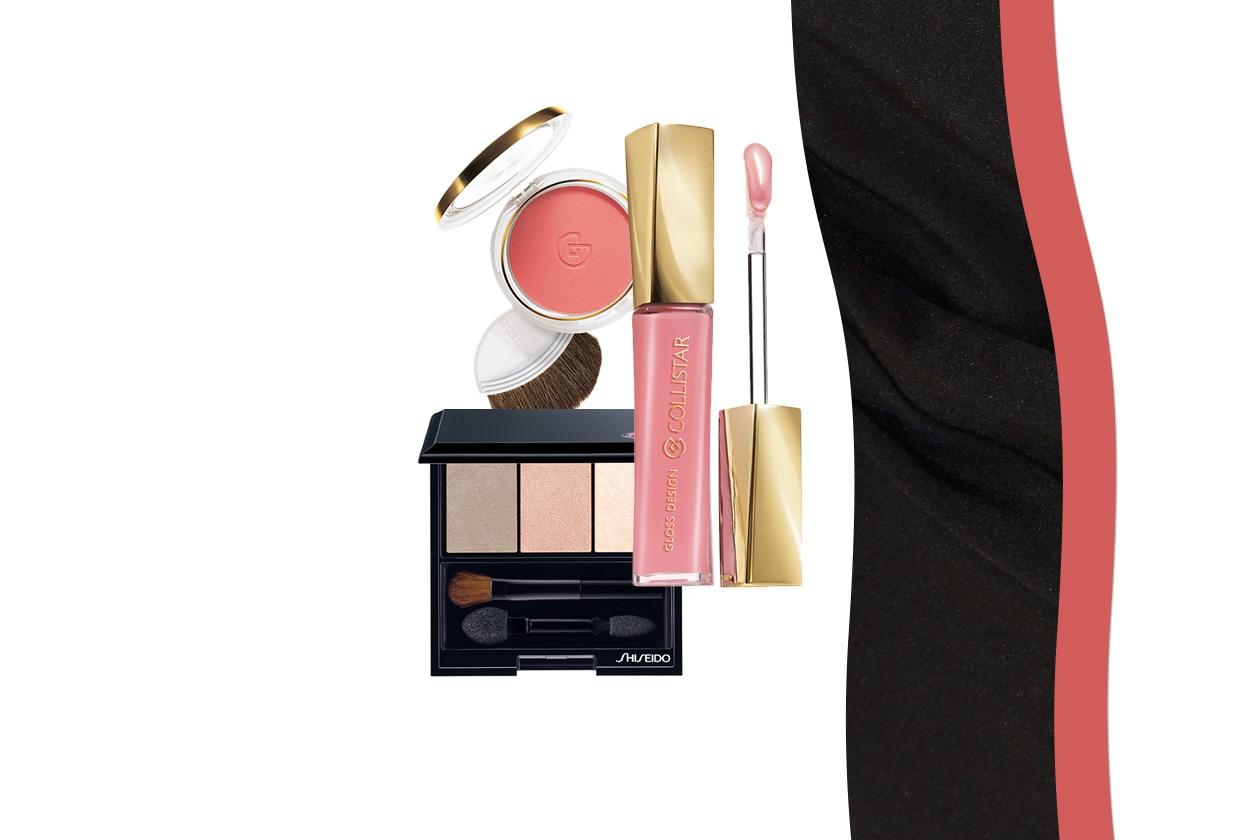 Semplice ma d'effetto il trucco sfoggiato dall'attrice italiana (Shiseido – Collistar)