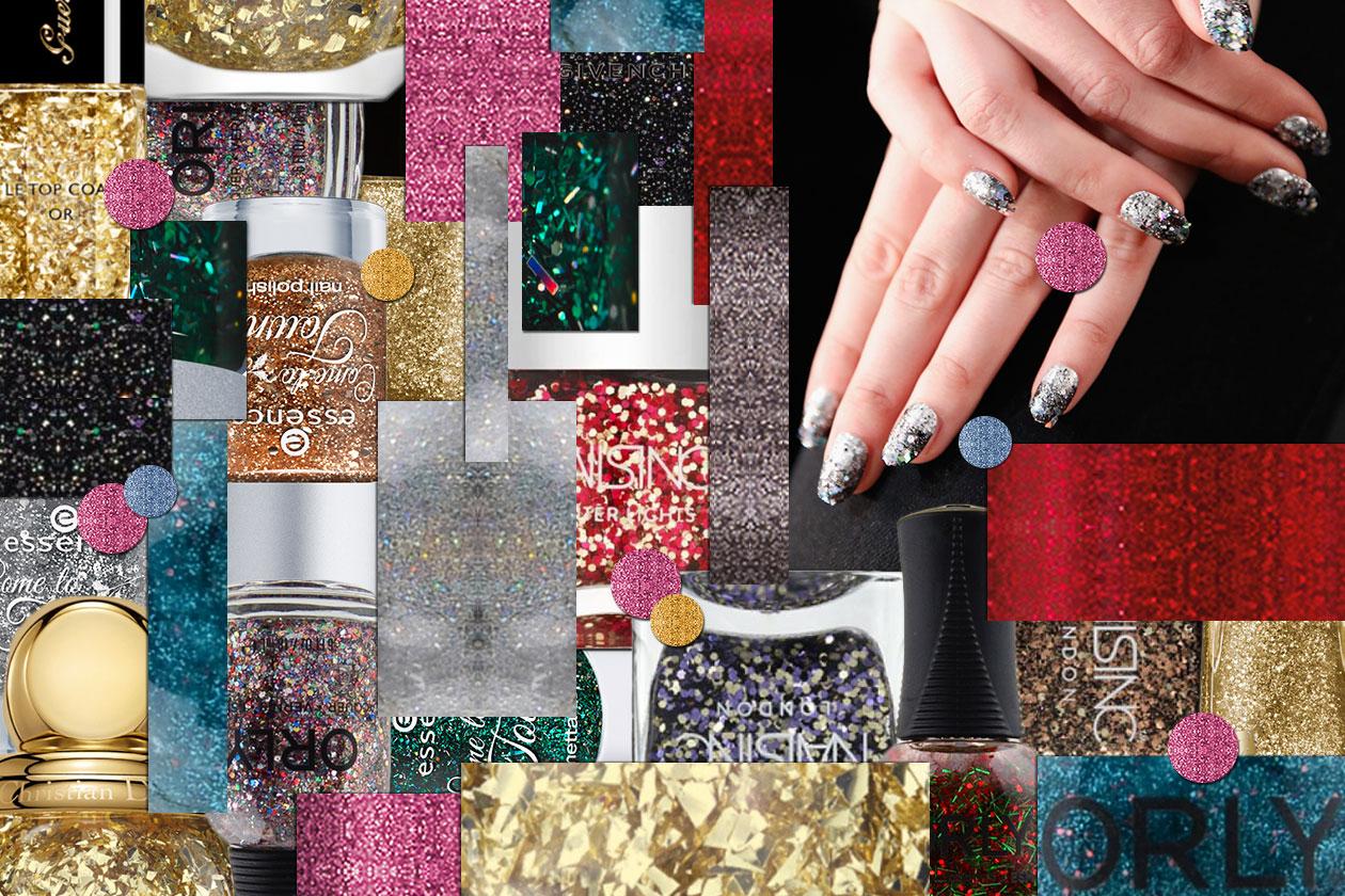 Smalti glitter: le novità della stagione selezionate da Grazia.IT
