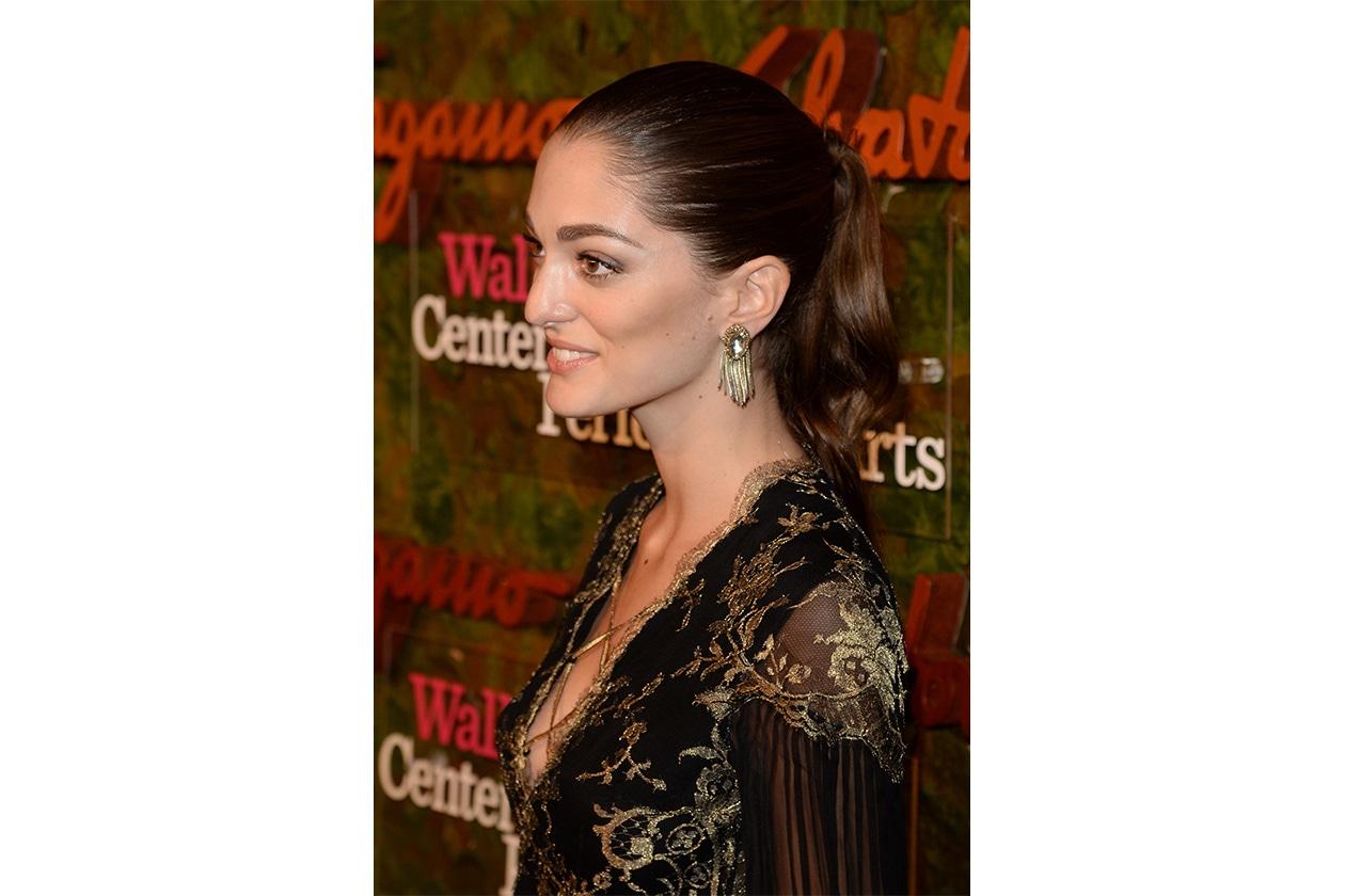 Sofía Sanchez Barrenechea capelli: lovely ponytail
