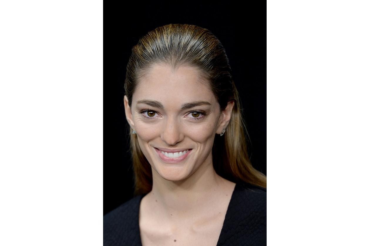 Sofía Sanchez Barrenechea capelli: sleek hair