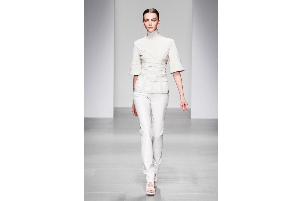 Trucco bianco e ghiaccio: chic white look