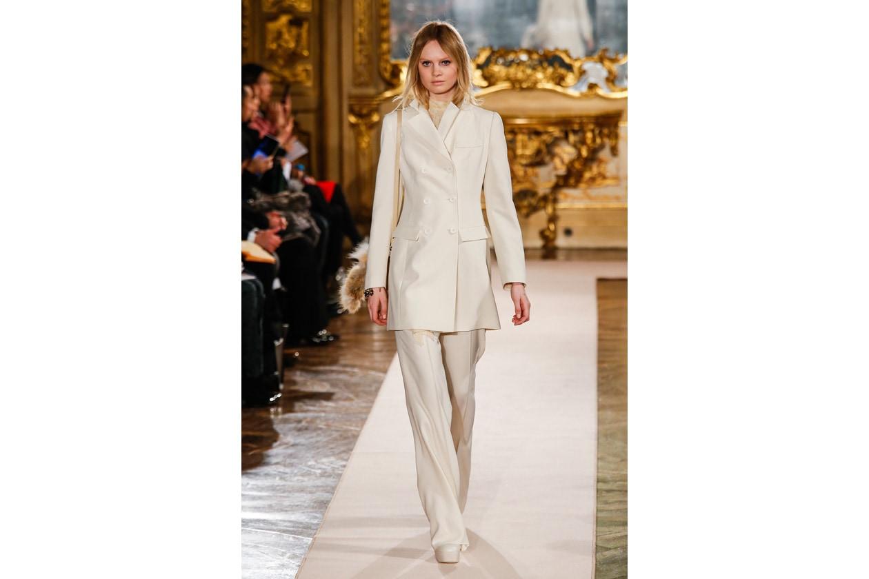 Trucco bianco e ghiaccio: classic total white look