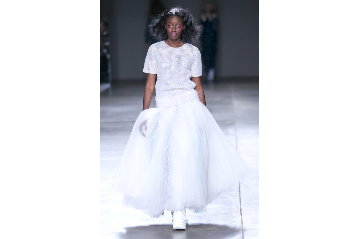 Trucco bianco e ghiaccio: ironic doll