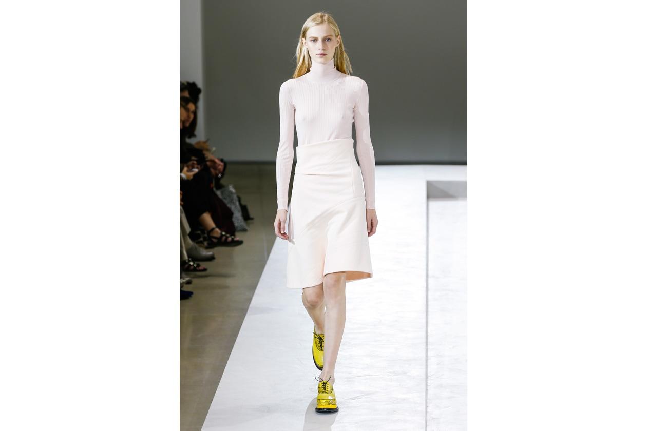 Trucco bianco e ghiaccio: simple white look