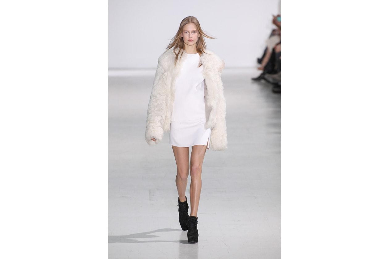 Trucco bianco e ghiaccio: warm white look