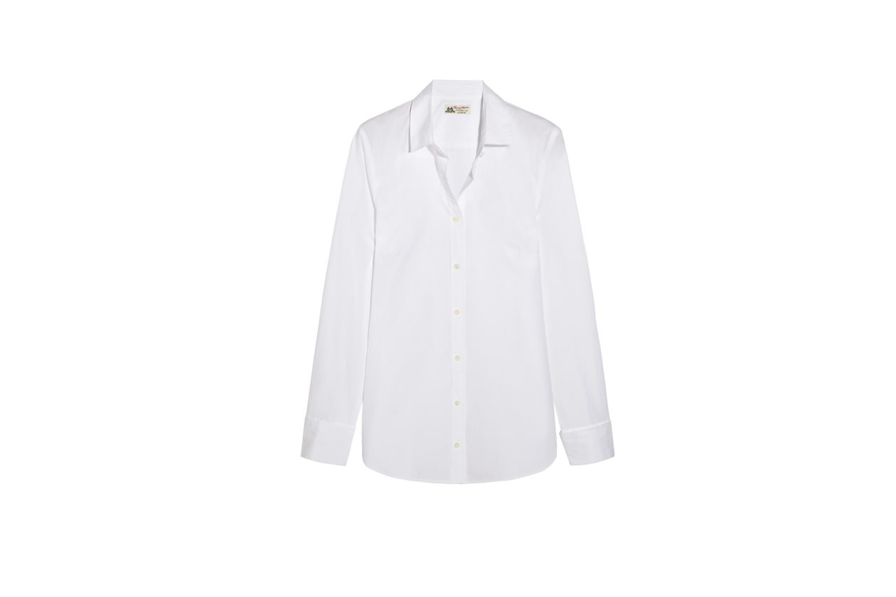 Trucco giorno e sera: camicia bianca J.Crew
