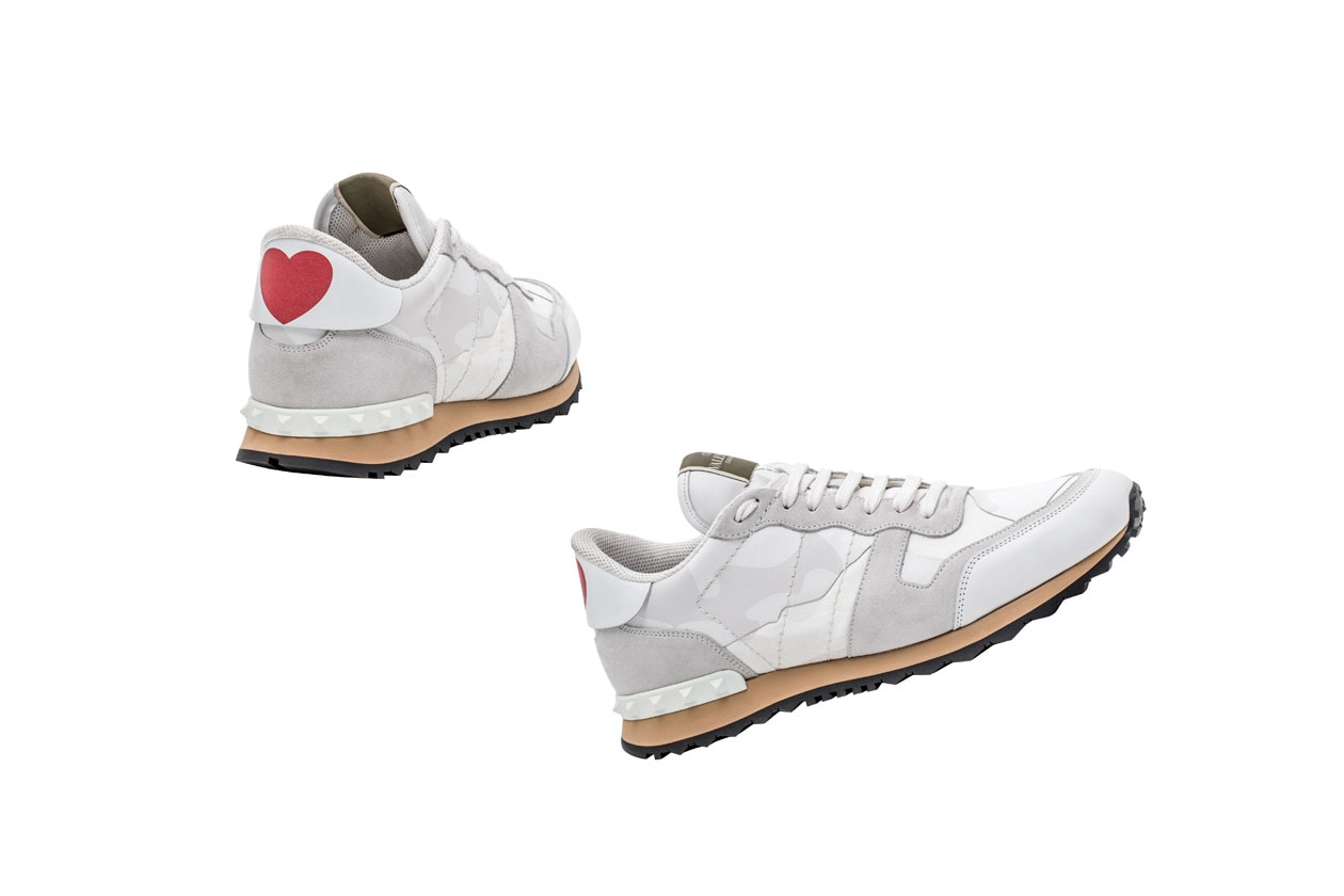 Valentino Garavani Capsule Collection Rockrunner shoe