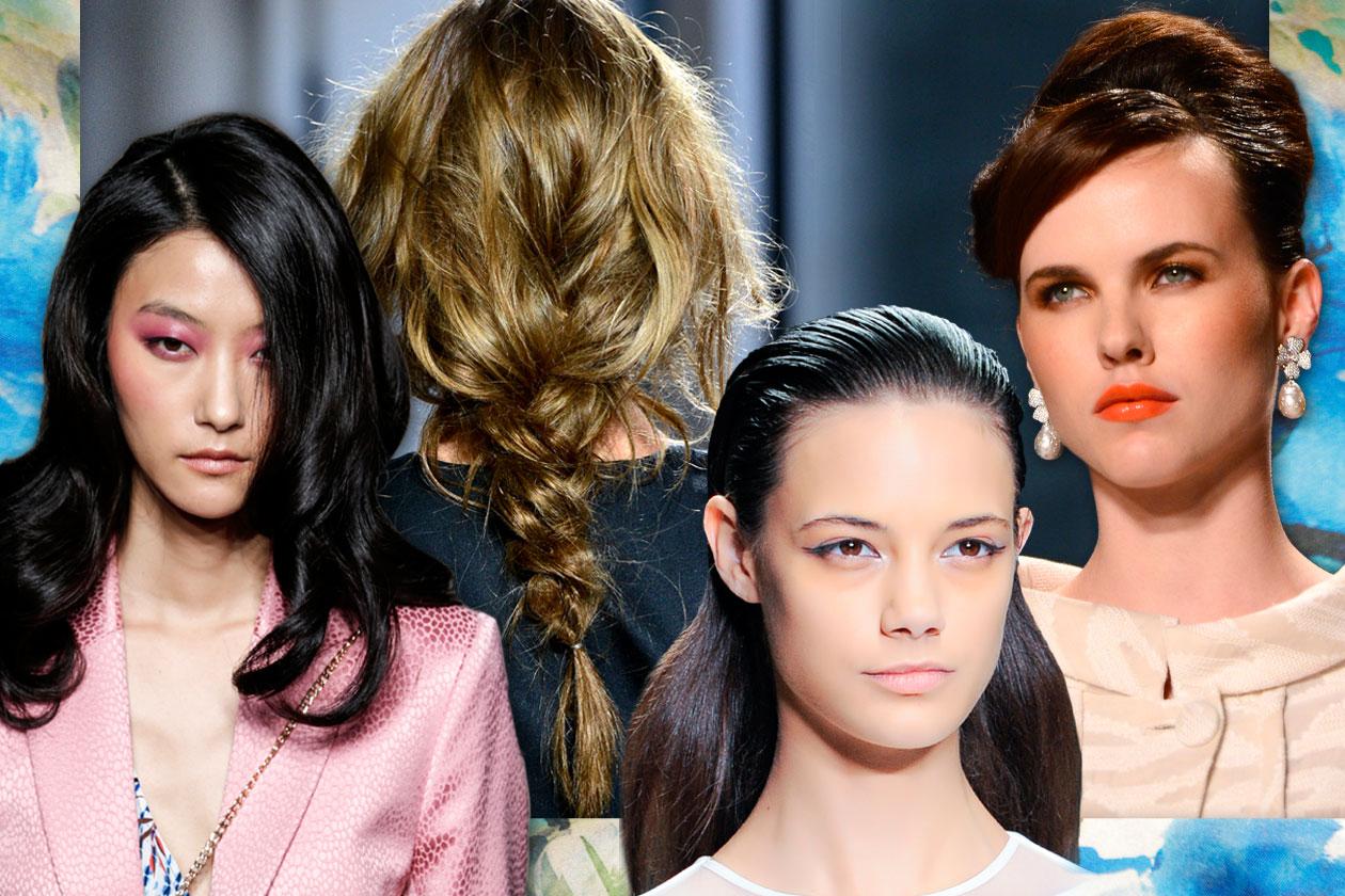 Volete cambiare il vostro hair look? Scoprite tutti i tagli e le acconciature della P/E 2015 selezionati da Grazia.IT direttamente dalle passerelle
