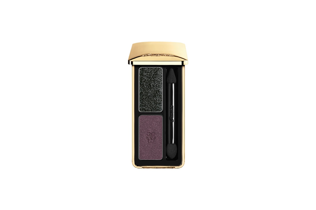 Winter Make Up Nero Guerlain Colour Fusion Eyeshadow 10 Cygne Noire