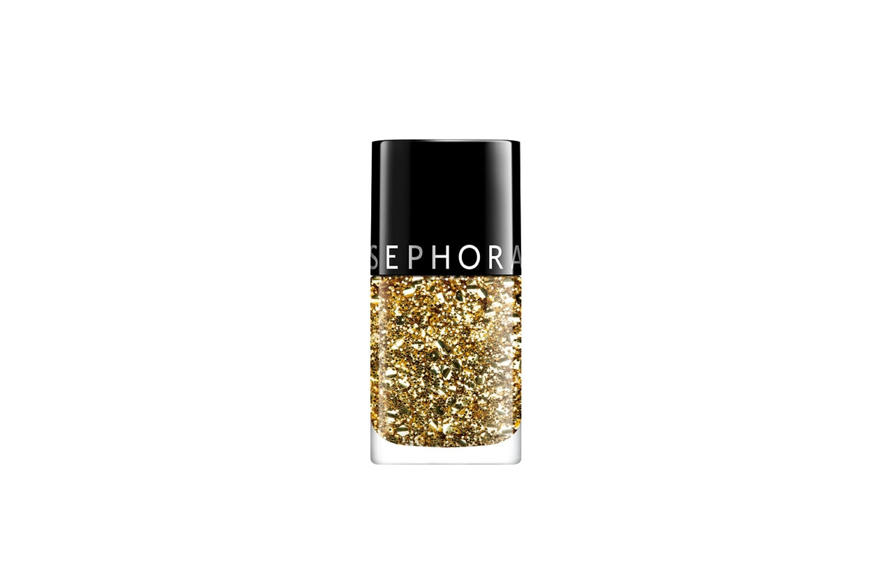 Winter Make Up Oro Sephora Top Coat Gold Fever