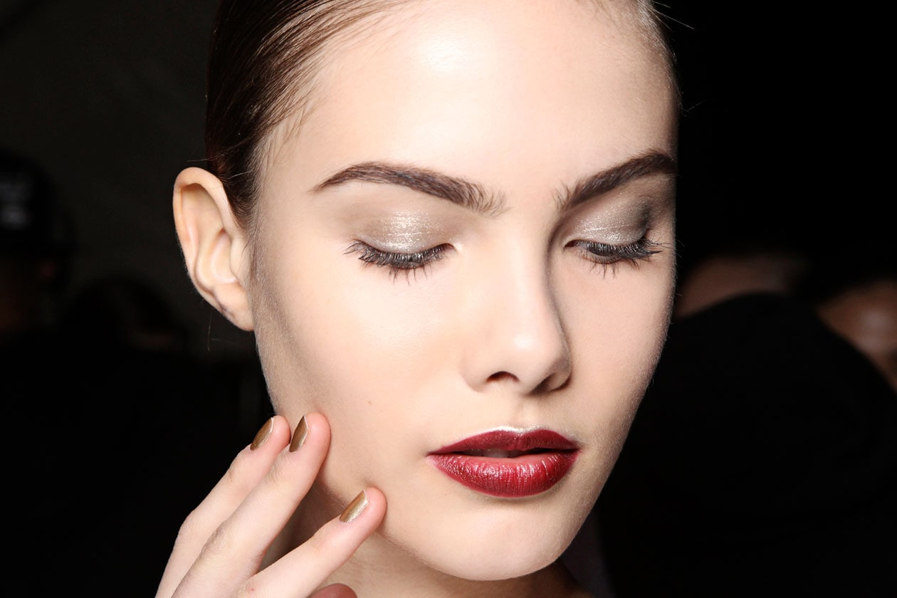 Winter Make Up Sfilata Naeem Khan