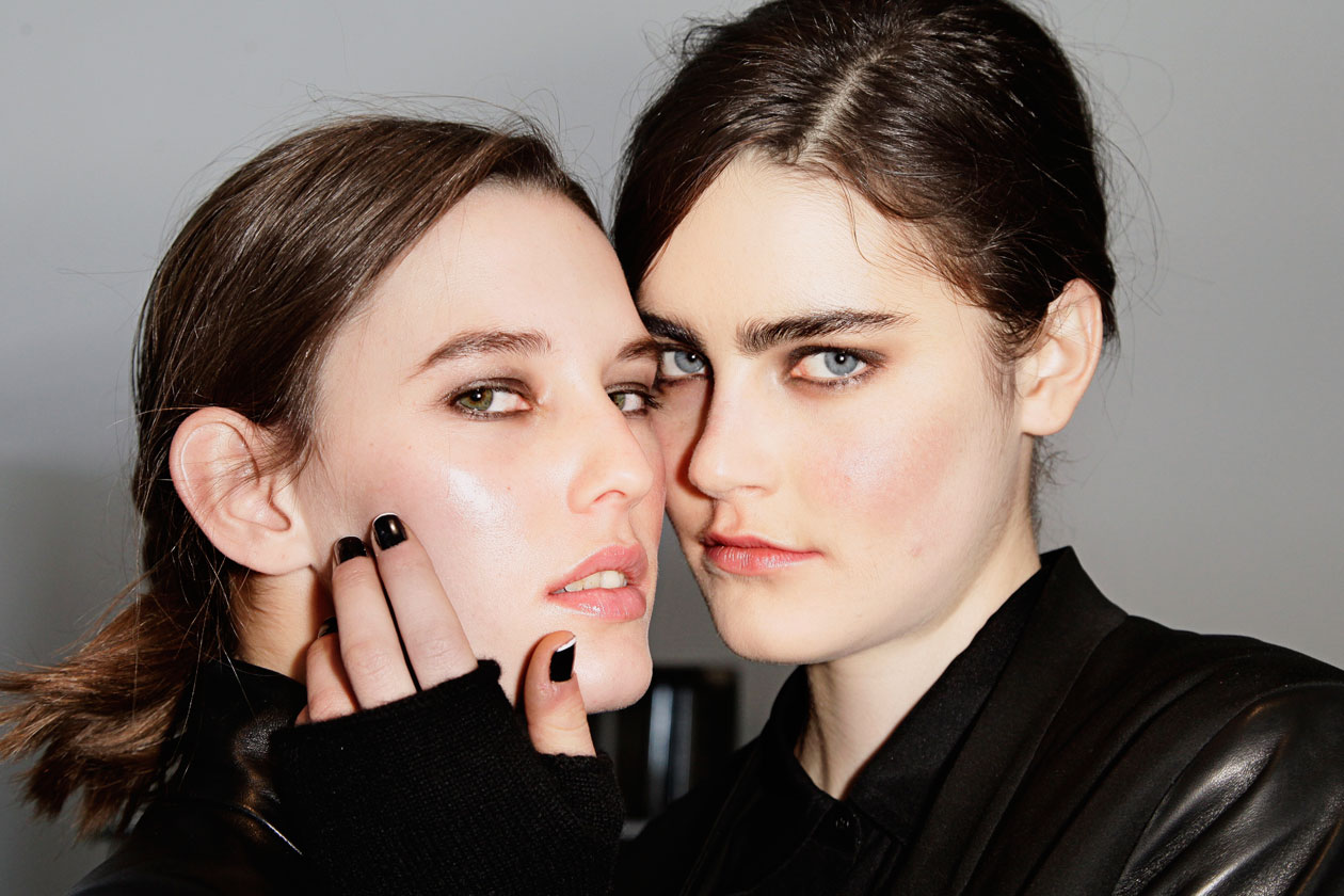 Winter Make Up Sfilata Tess Giberson