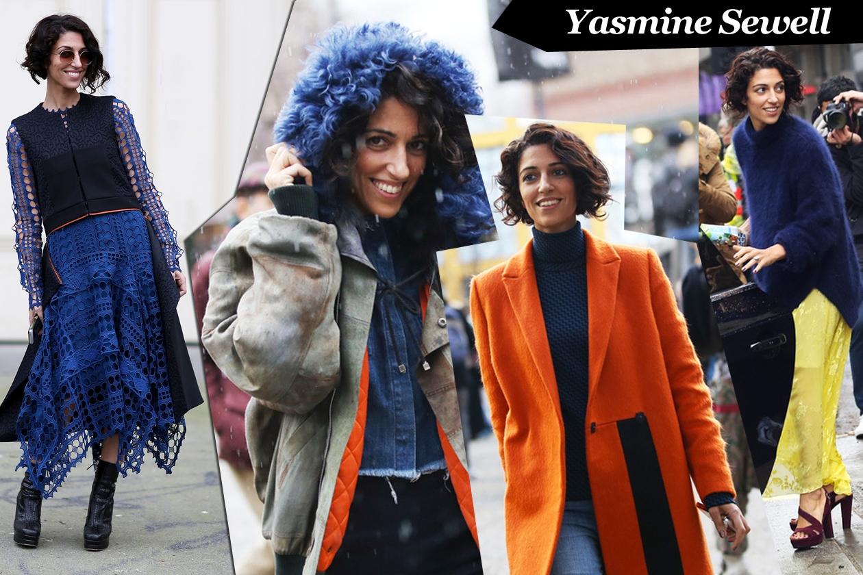Yasmine Sewell: colorful mix&match